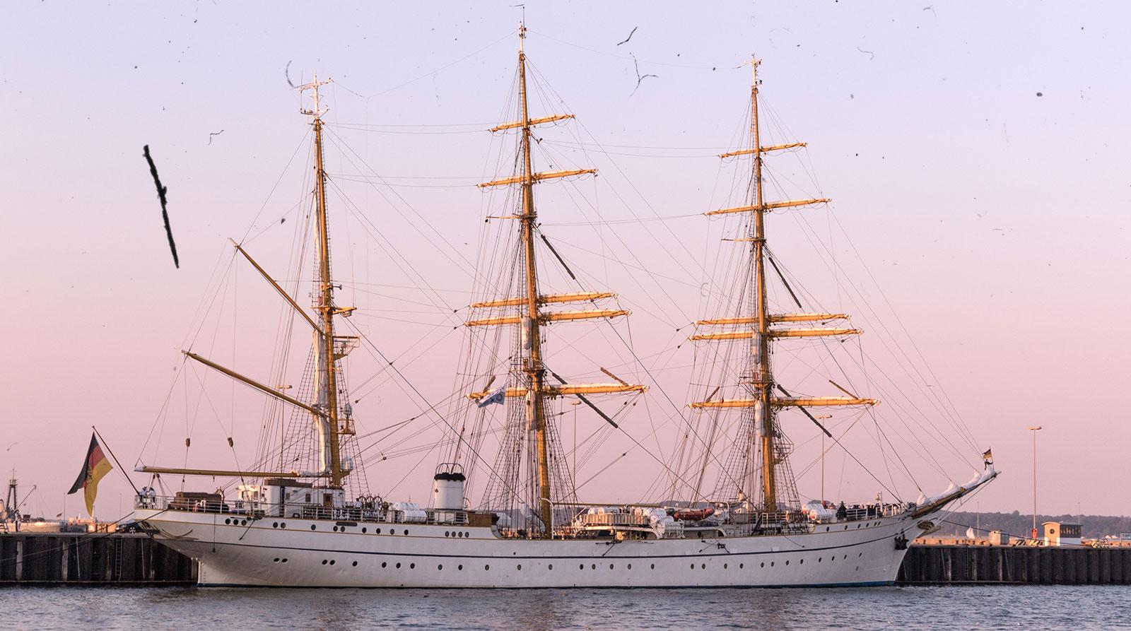 Before-Sail Boat